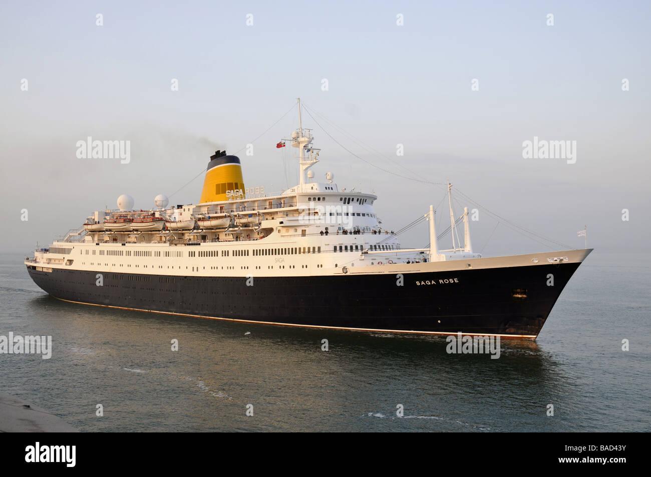 Saga Rose cruise liner - Stock Image