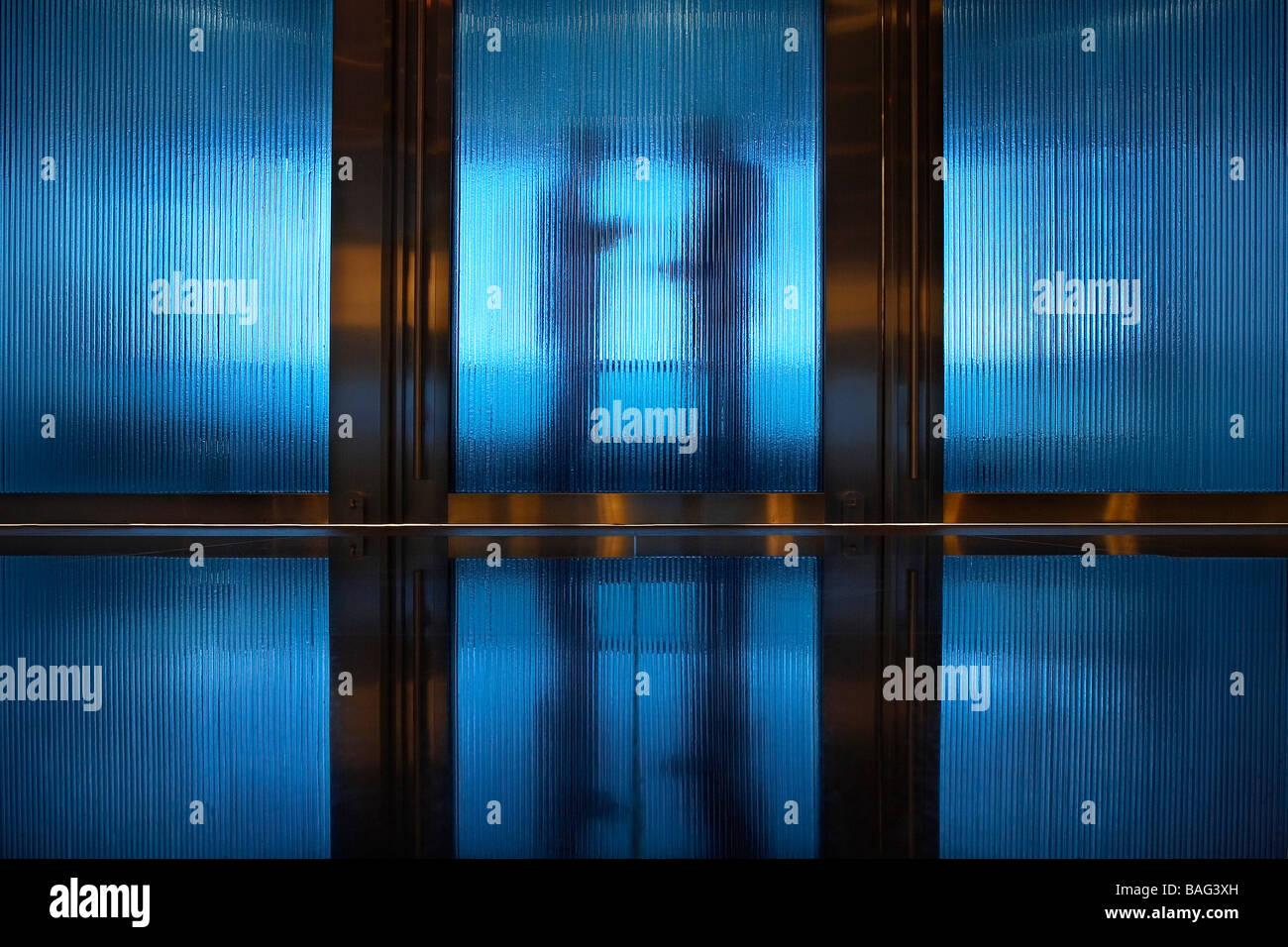 Adcb Headquarters, Abu Dhabi, United Arab Emirates, Gensler, Adcb headquarters. - Stock Image