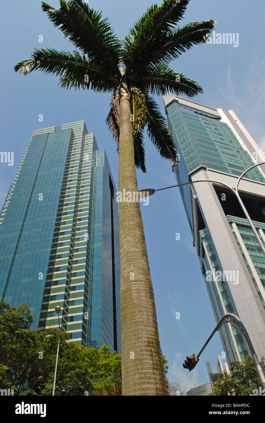 Office Building, Singapur - Stock Image