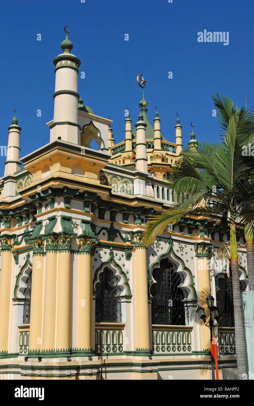 Abdul-Ghaffoor Moschee, Singapur - Stock Image