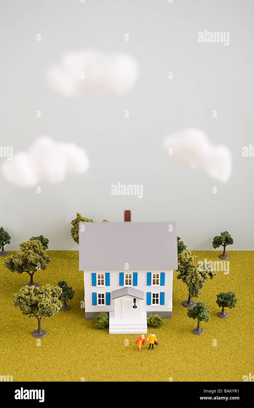 Model house - Stock Image
