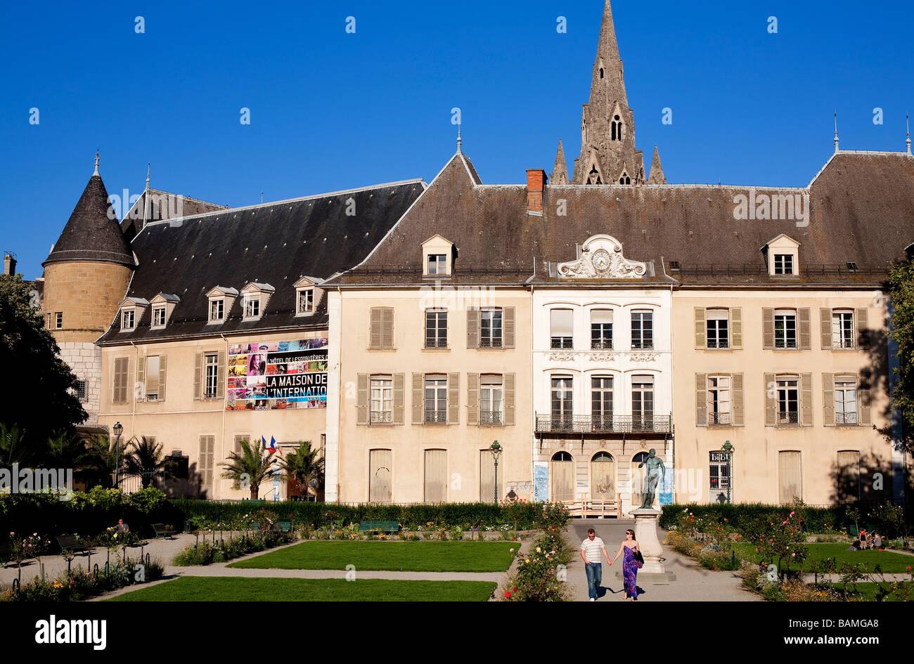 Converted mansion stock photos converted mansion stock images alamy - Restaurant jardin de ville grenoble ...
