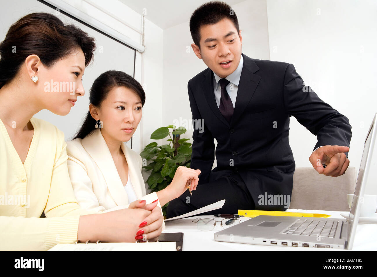 Businesspeople In Meeting - Stock Image