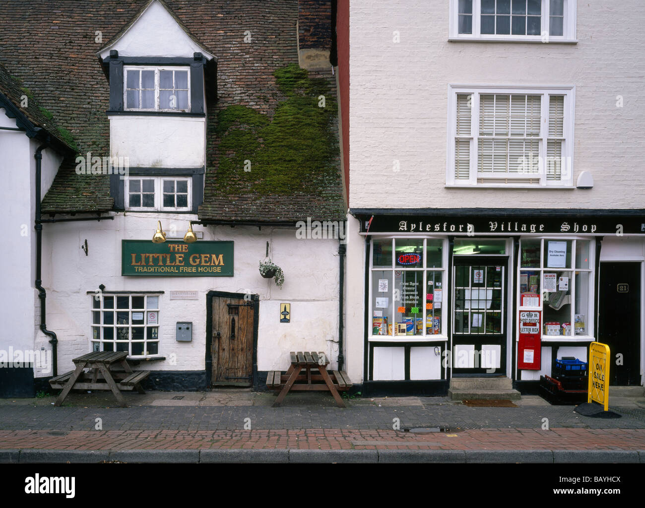 Aylesford kent england stock photos aylesford kent for The little house shop