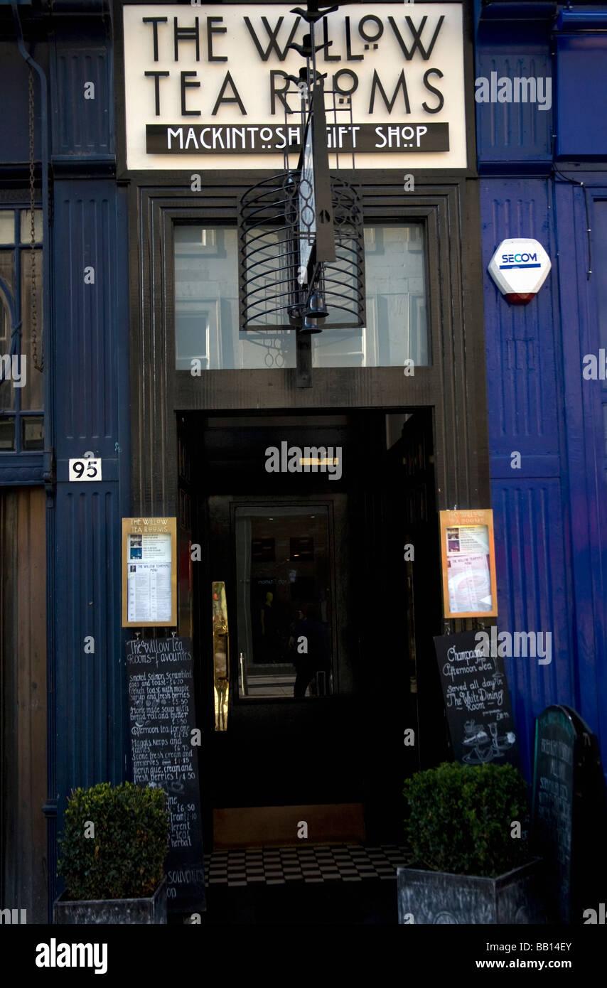 Willow Tea Rooms Buchanan Street Glasgow