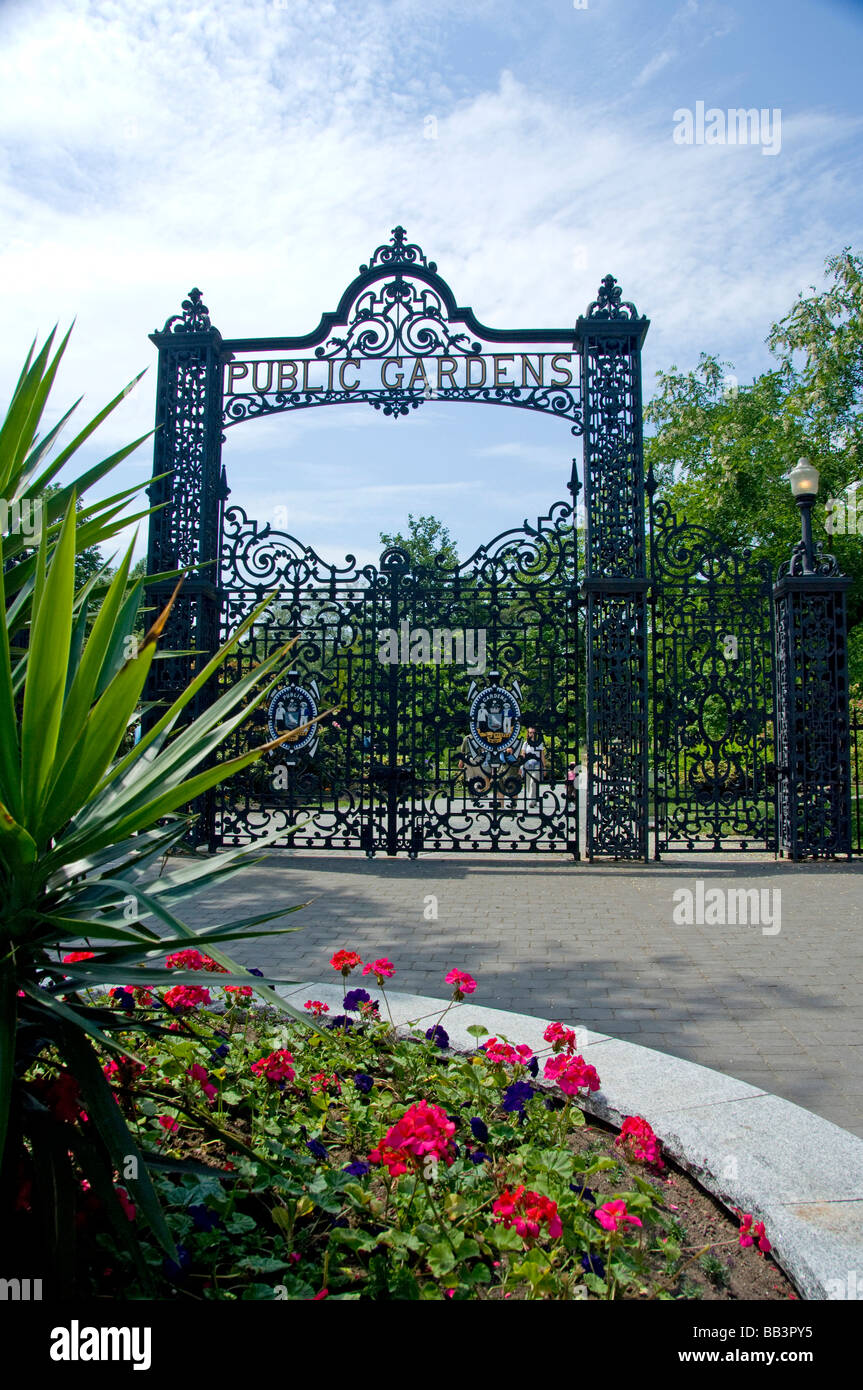 Canada, Nova Scotia, Halifax  Public Gardens , historic