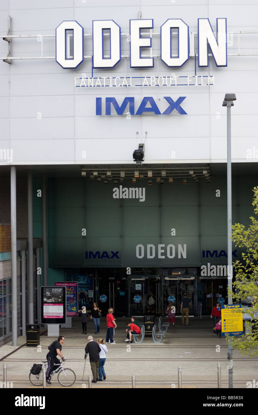 Odeon Imax cinema greenwich, London, UK - Stock Image