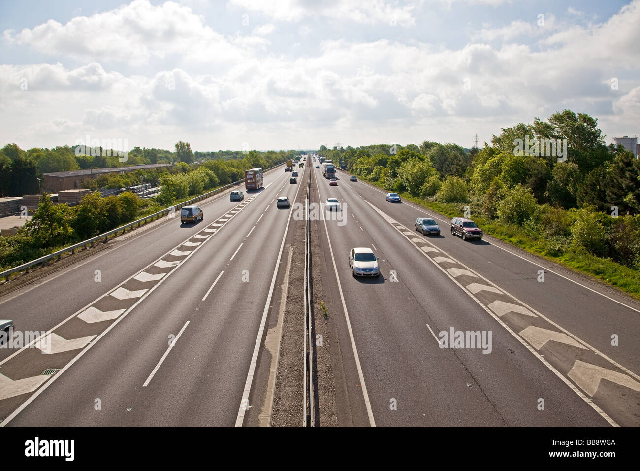 a14-looking-east-milton-cambridge-england-BB8WGA.jpg
