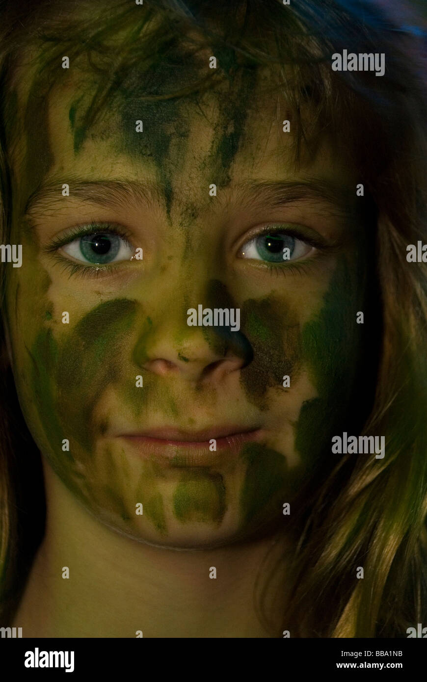 young girl with face cam stock photo 24192487 alamy