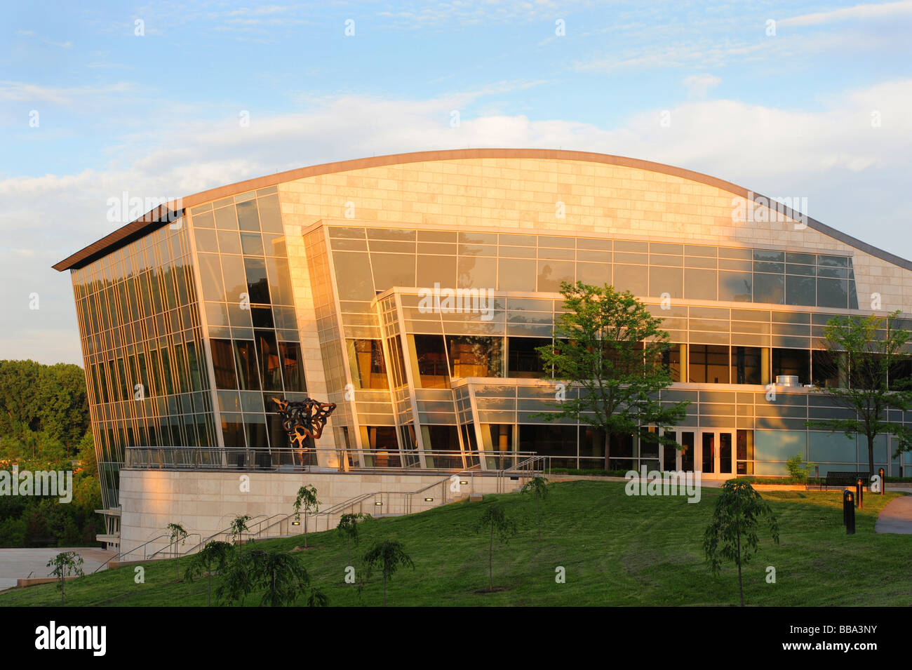 USA Maryland Bethesda Strathmore Hall Music Center- concert hall Stock Photo