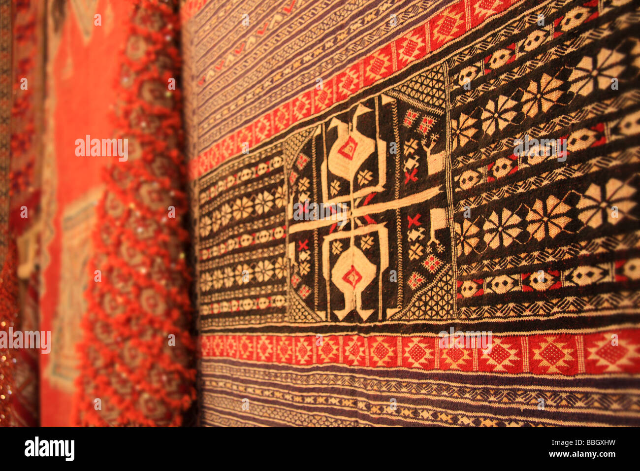 hand knotted berber design rugs and carpets for sale in rissani rh alamy com