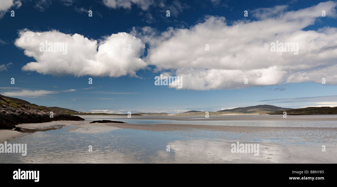 Luskentyre beach, Isle of Harris, Outer Hebrides, Scotland - Stock Image