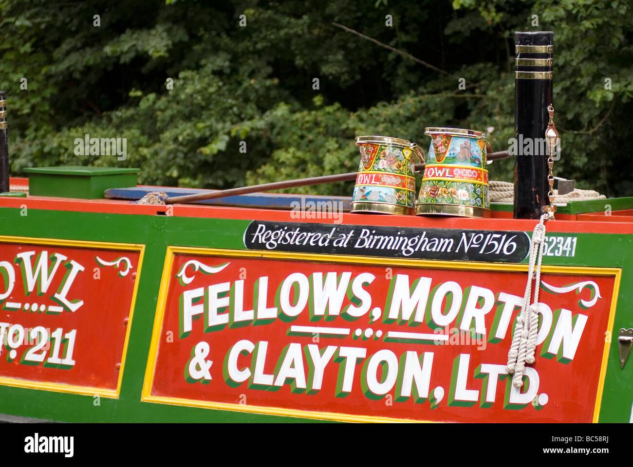 2009 Braunston Historic Narrowboat Rally Doug Blane Stock Photo