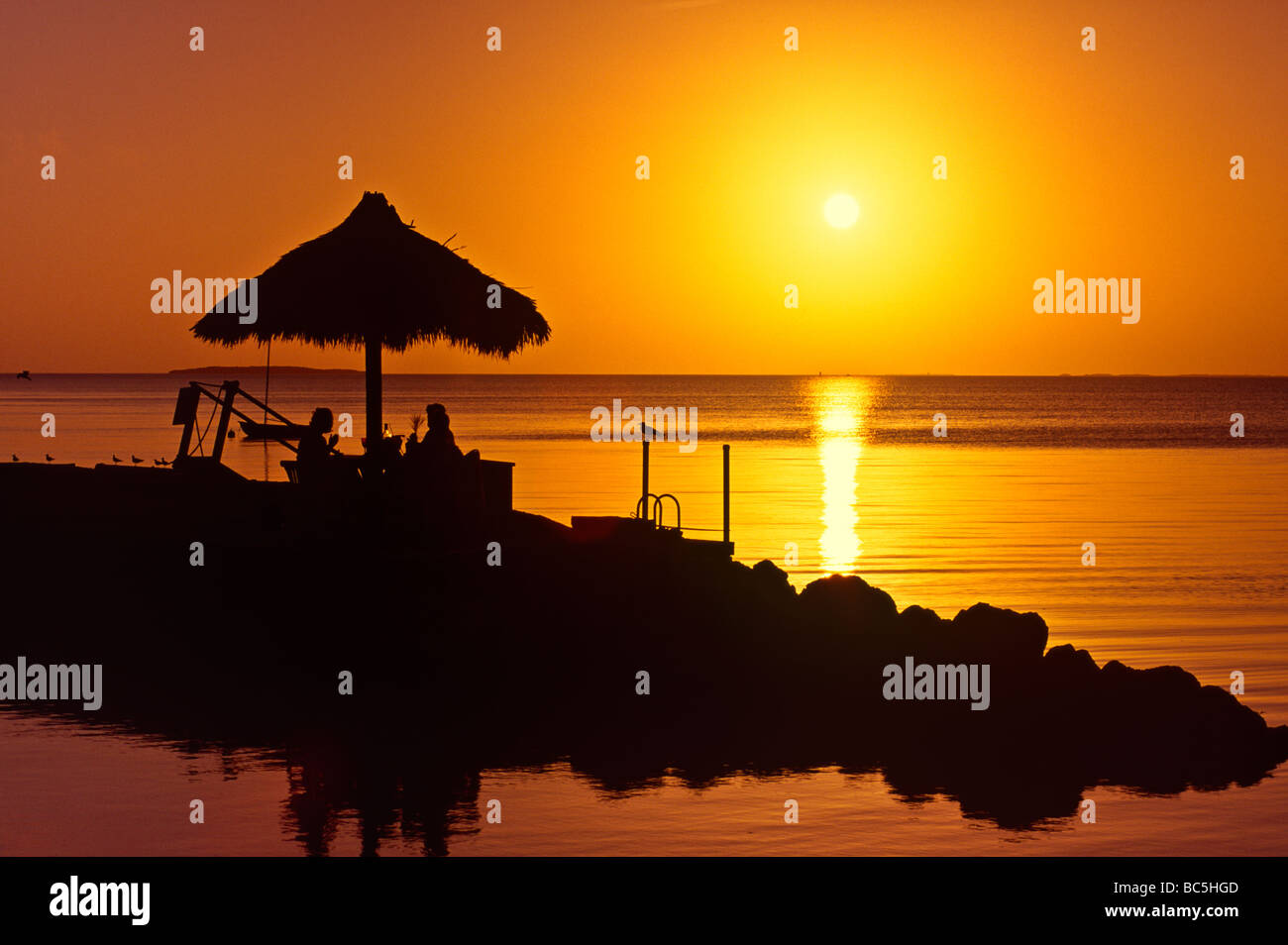 romantic-florida-sunset-key-largo-sunset