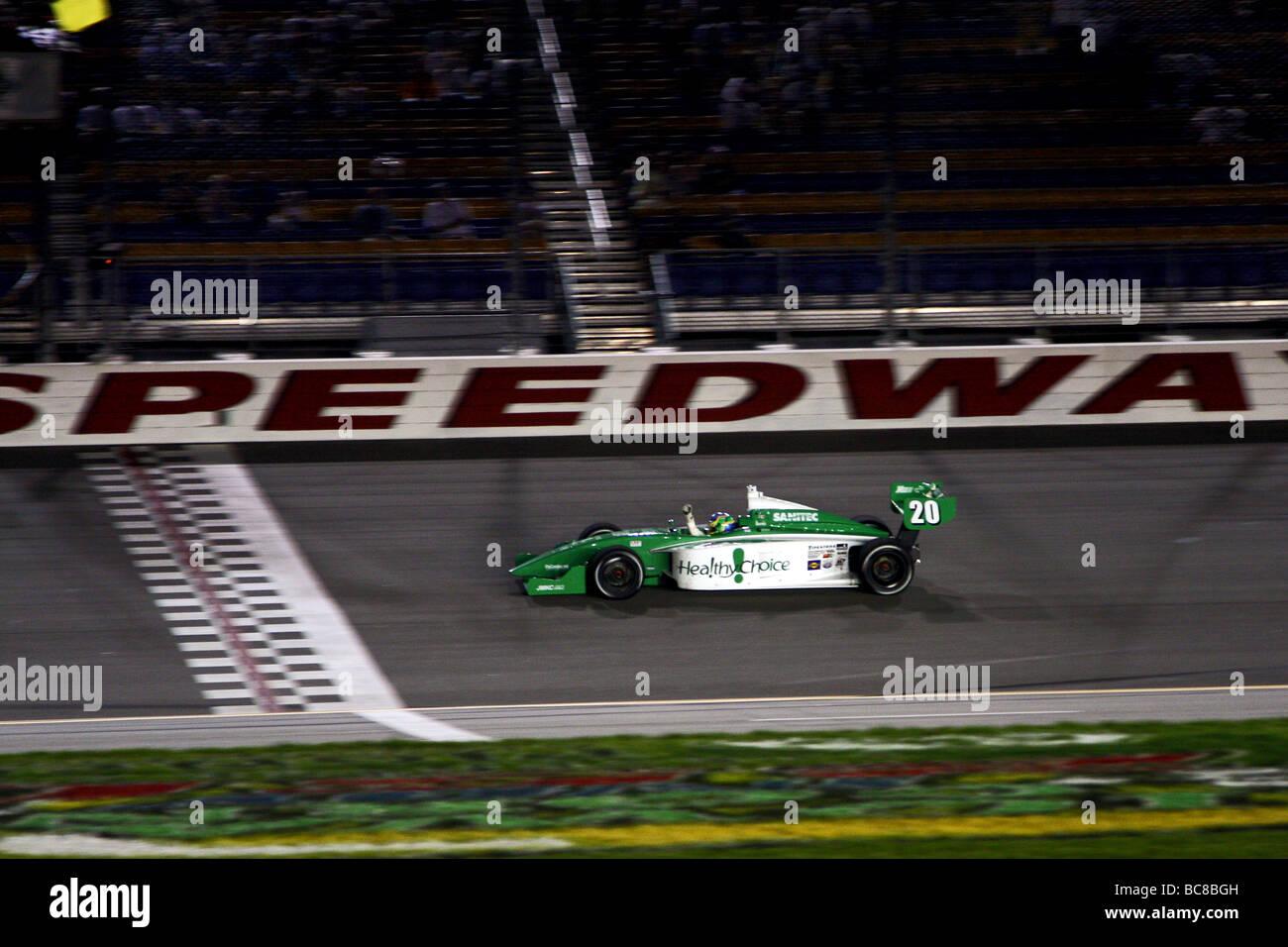 Indy Lights Race Series Stock Photo