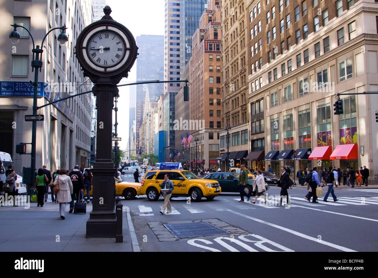 5th Avenue New York Stock Photos & 5th Avenue New York