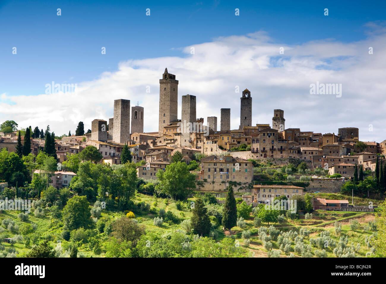 San Gimignano, Tuscany, Italy, RF - Stock Image