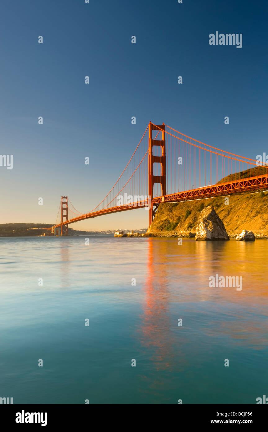 USA, California, San Francisco, Golden Gate Bridge - Stock Image