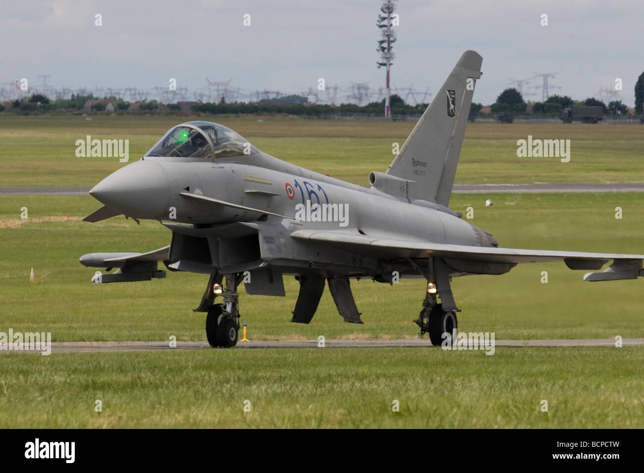 Paris Airshow 2009 Eurofighter - Stock Image