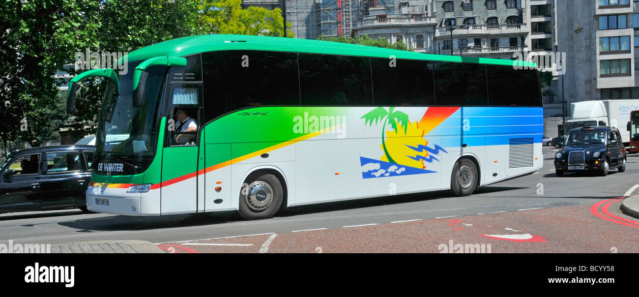 left hand drive bus stock photos left hand drive bus stock images alamy. Black Bedroom Furniture Sets. Home Design Ideas