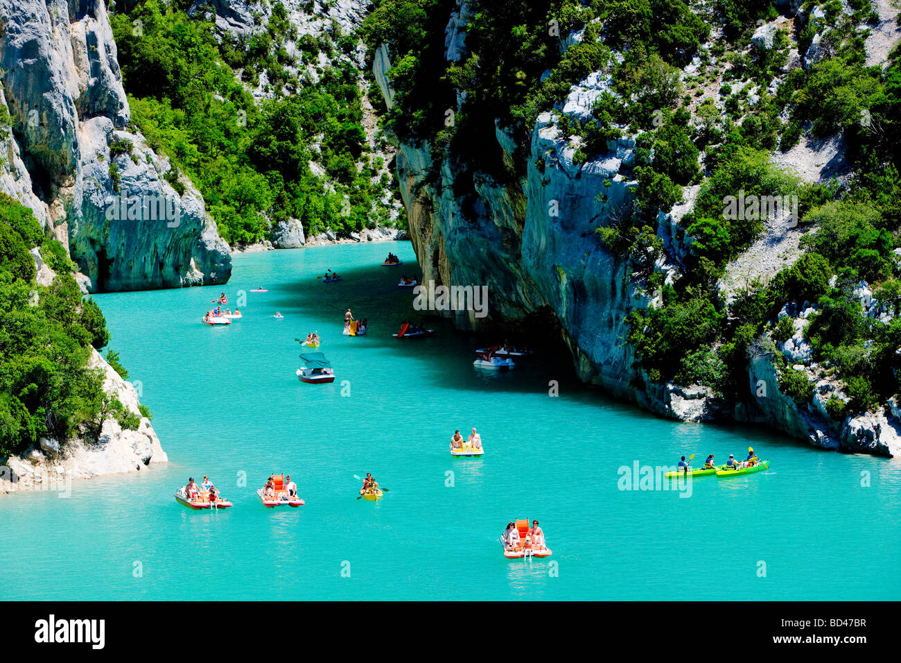 St Croix Lake Les Gorges du Verdon Provence France Stock Photo