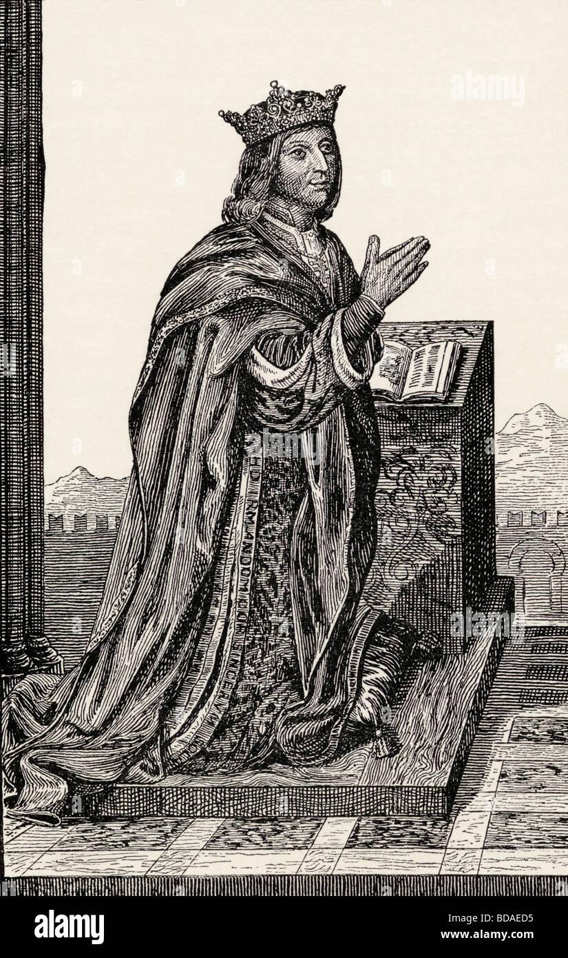 Ferdinand V called Ferdinand The Catholic born 1452 died 1516. - Stock Image