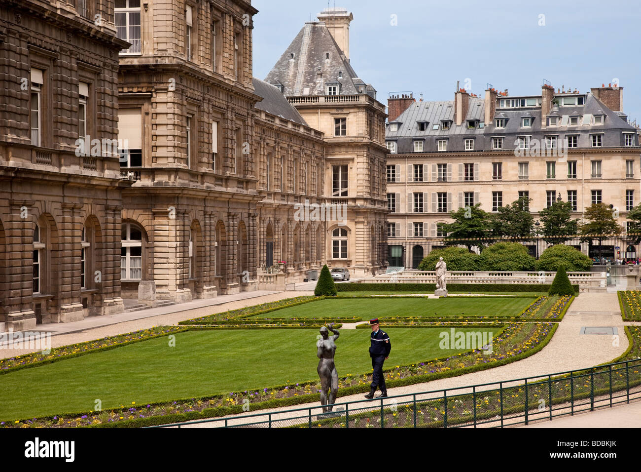 Jardin du Luxembourg, Paris France - Stock Image