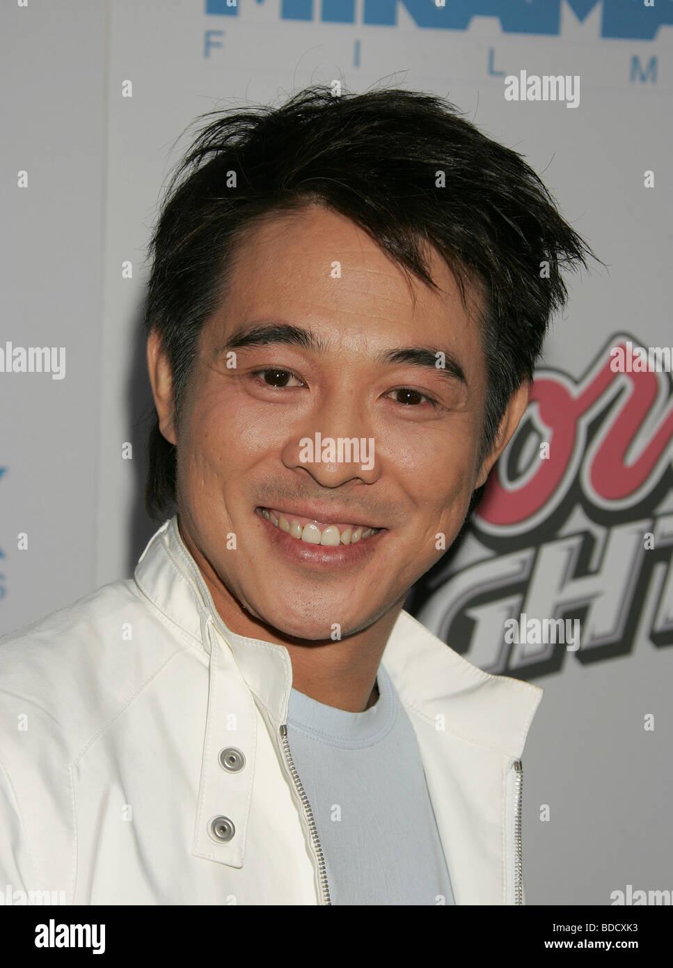 JET LI - Chinese martial arts film actor - Stock Image