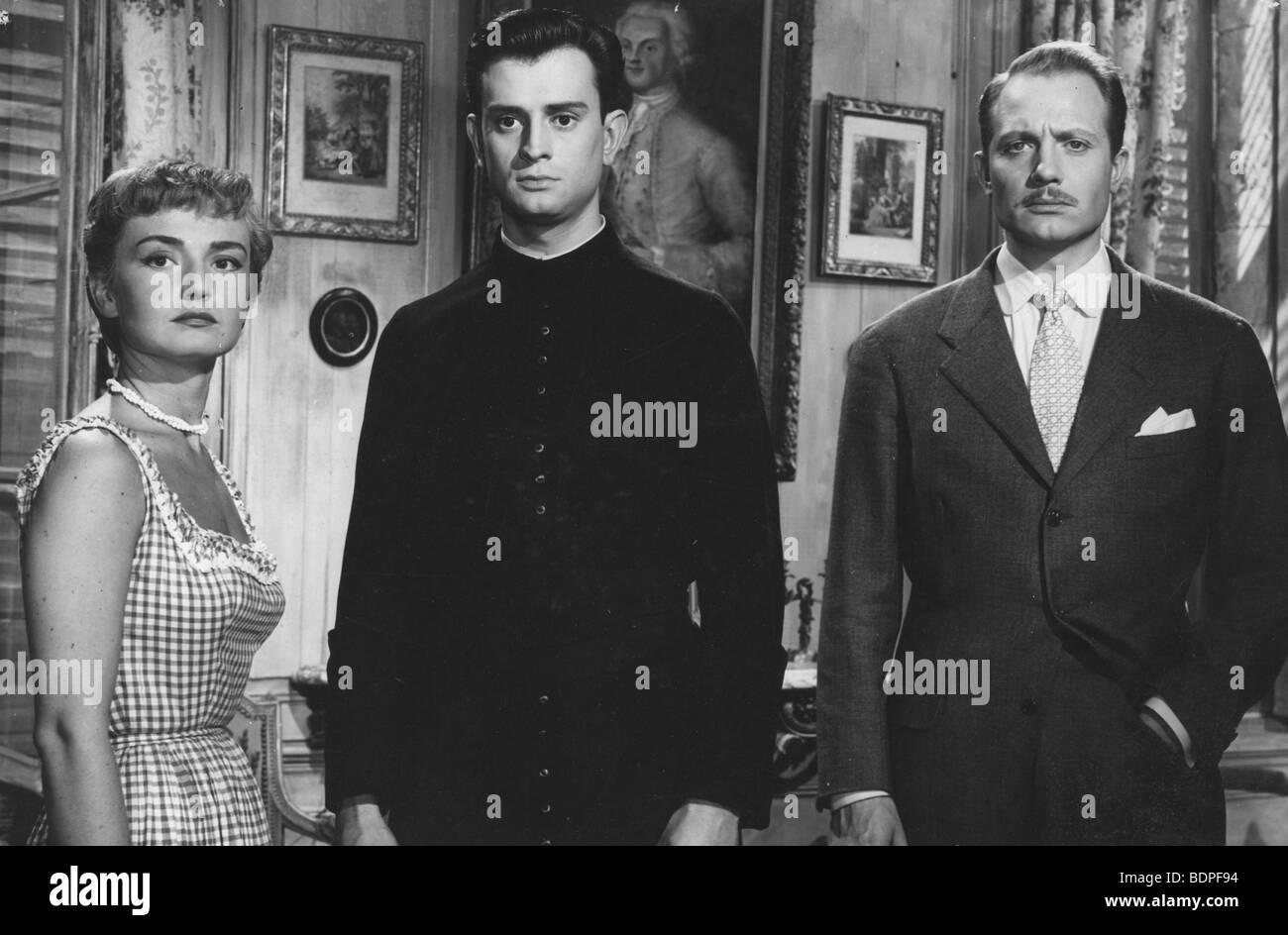 Les aristocrates Year: 1955 Director: Denys de La Patellière Brigitte Auber, Georges Descrières, Jacques - Stock Image