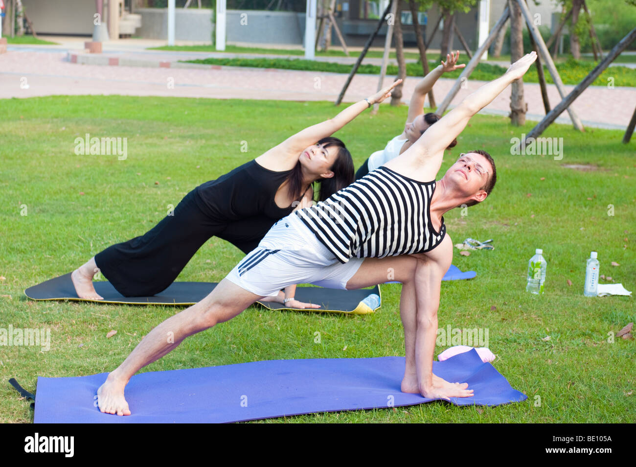 Yoga Woman Asian Chinese Exercise Fitness Stretching Meditation ...