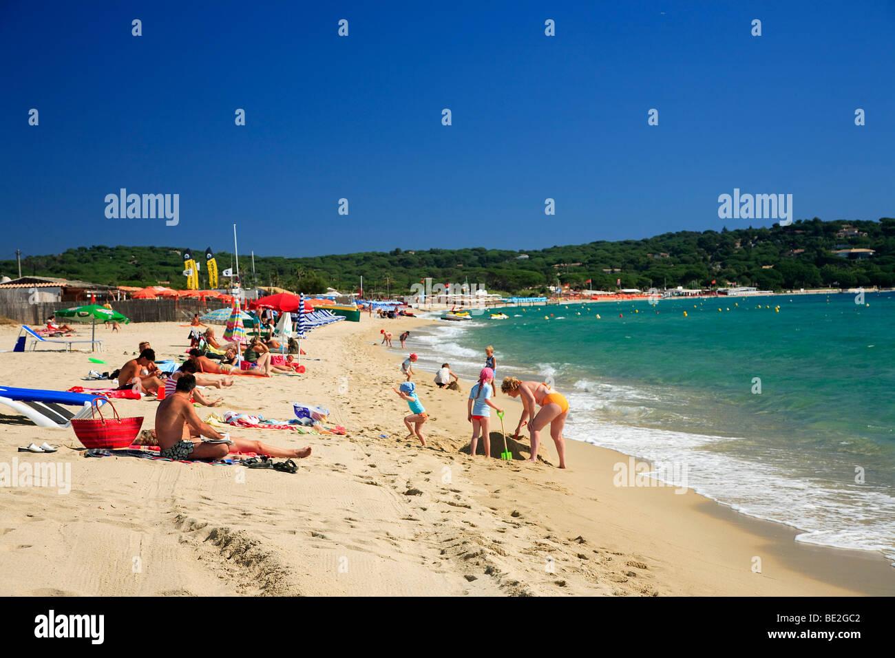 Pampelonne Beach Saint Tropez Var France Stock Photo 25872338