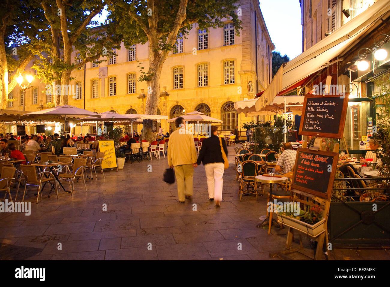 RICHELME SQUARE TO AIX EN PROVENCE, PROVENCE, FRANCE - Stock Image