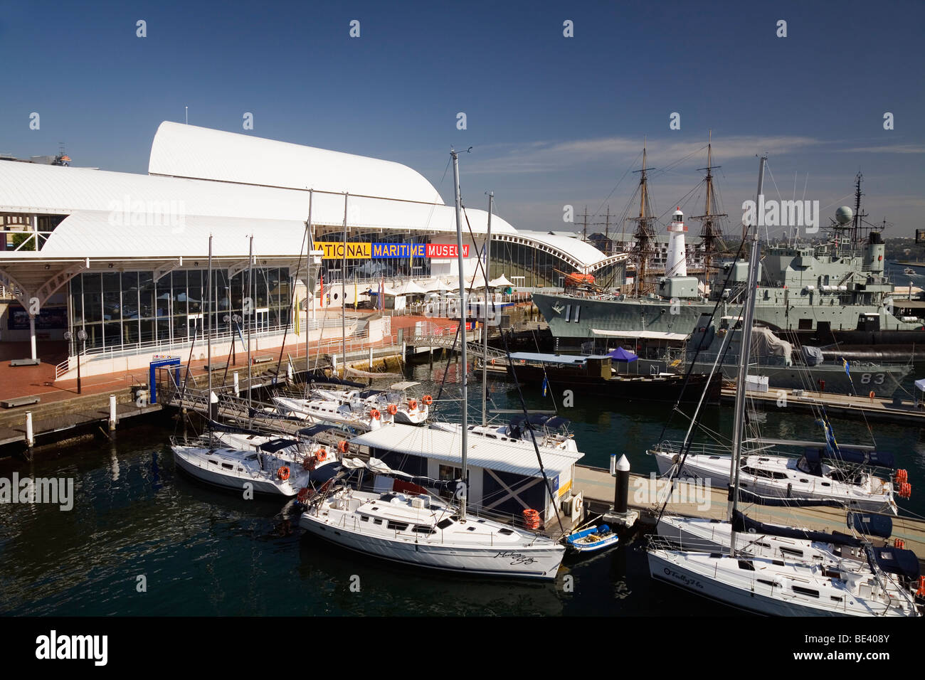 Australian National Maritime Museum at Darling Harbour. Sydney, New South Wales, AUSTRALIA - Stock Image