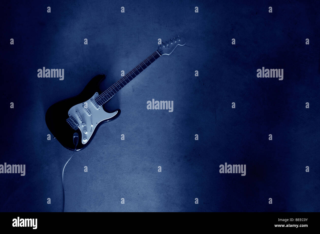 Electric guitar - Stock Image