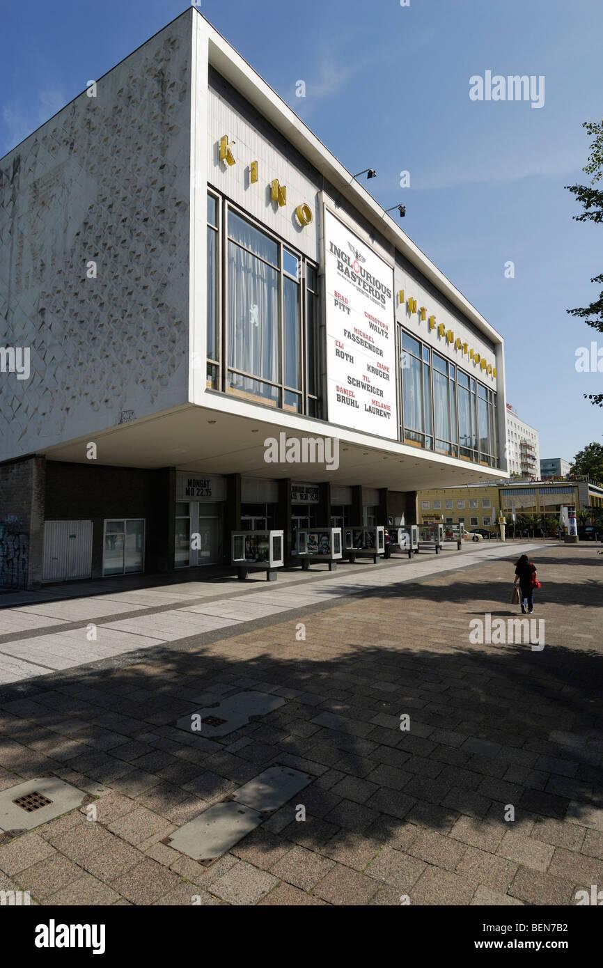 Berlin. Germany. Kino International Cinema on Karl Marx Allee. - Stock Image