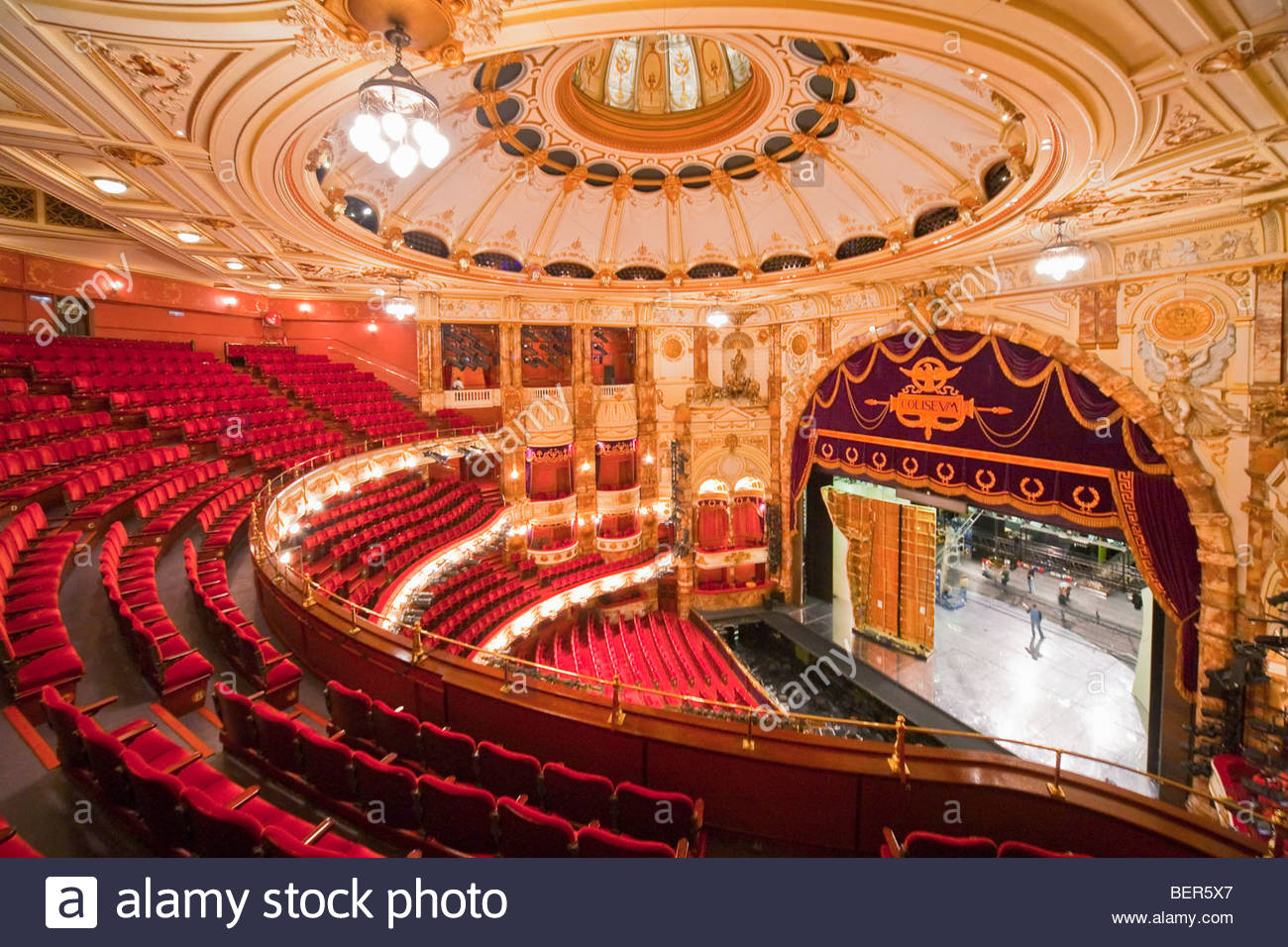 Coliseum Theatre, London Stock Photo