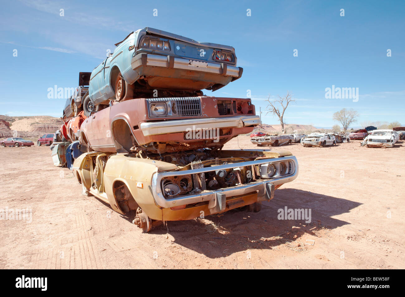 Scrap Metal Junk Yard Stock Photos & Scrap Metal Junk Yard Stock ...