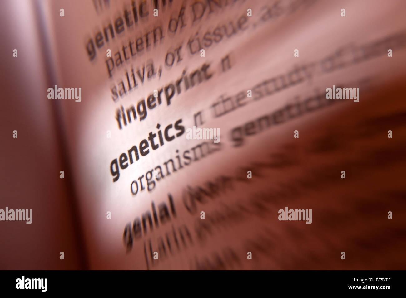 Genetics - Stock Image