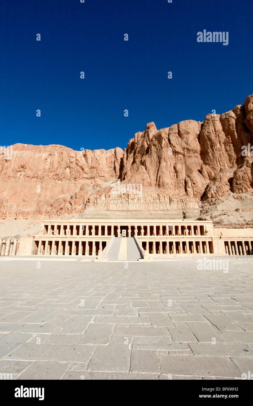 Queen Hatshepsut's Temple, near Luxor, Egypt. Stock Photo