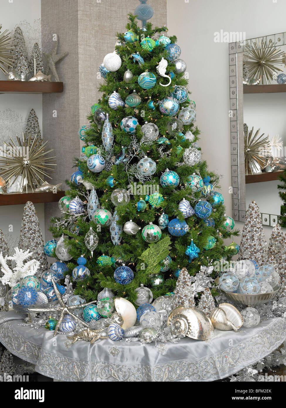 Artificial Christmas Tree Stock Photos & Artificial Christmas Tree ...