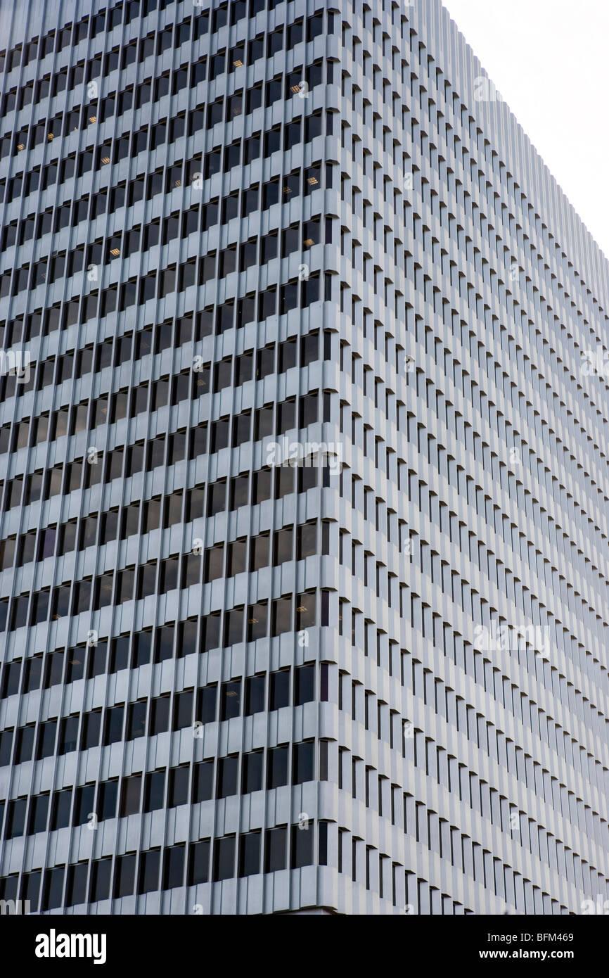 bank building, Los Angeles, California - Stock Image