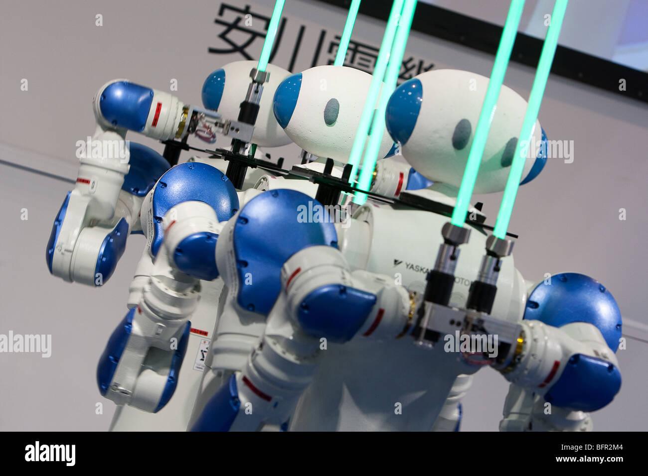 Motoman Robots Produced By Yaskawa Company International Robot
