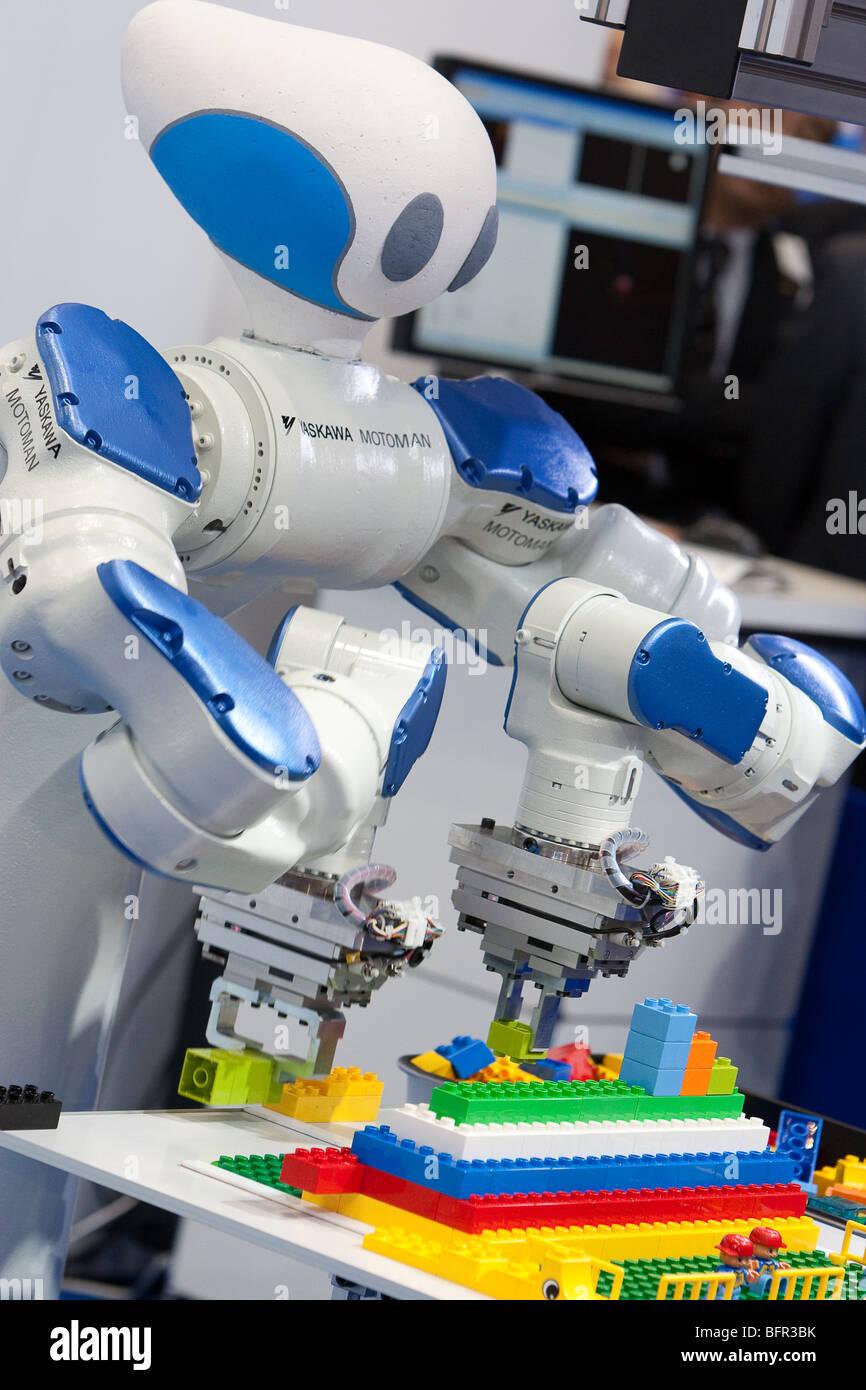 Motoman Robots Produced By Yaskawa At The International Robot