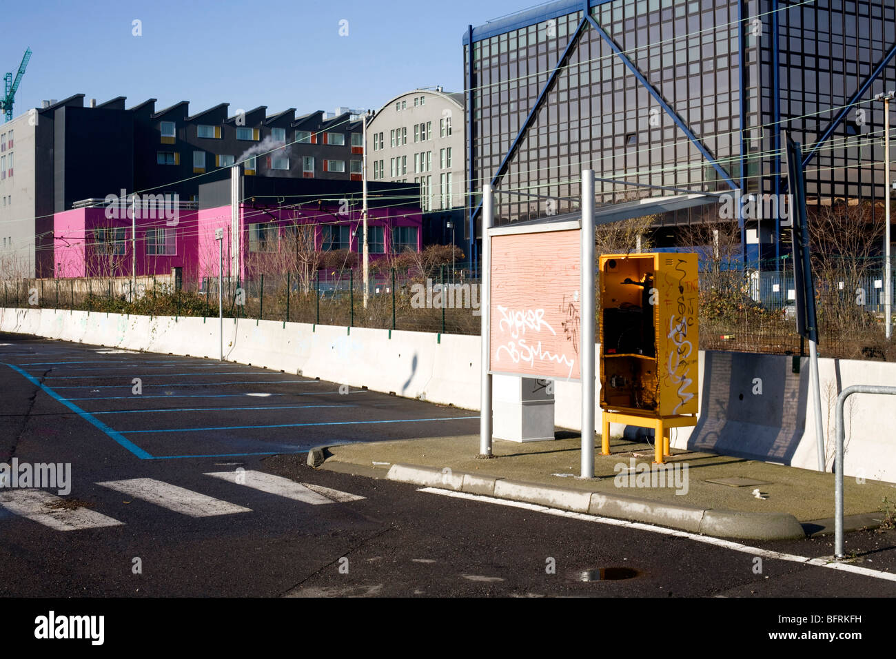 Urban scenes Milan Italy - Stock Image