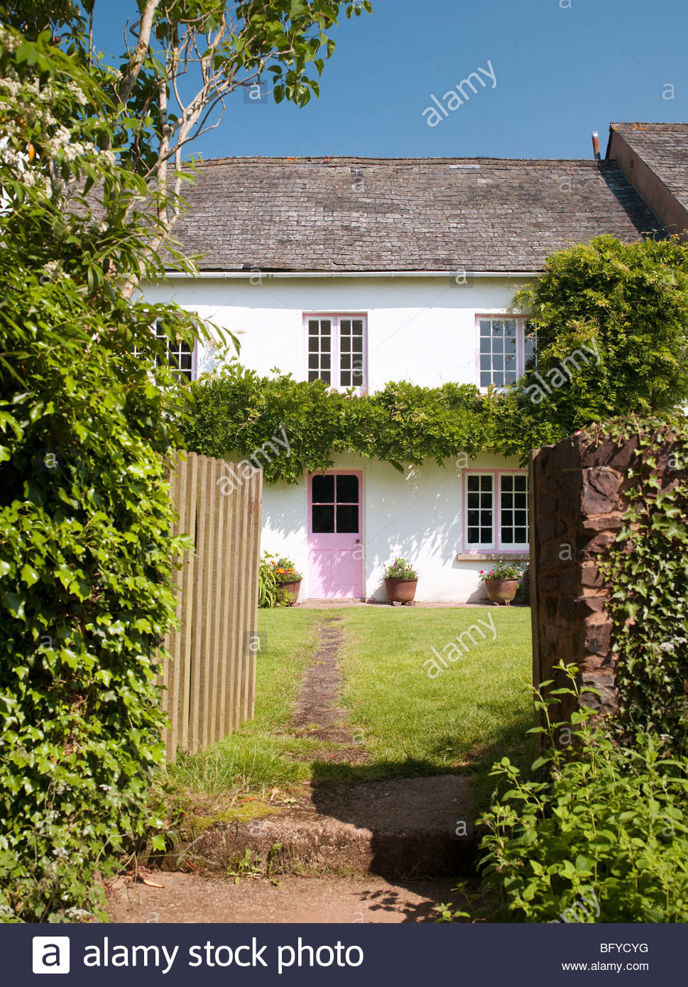 Country house - Stock Image