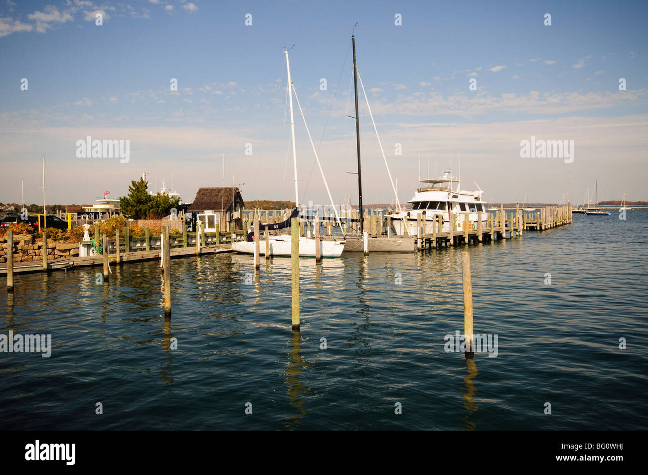 Sag Harbor, The Hamptons, Long Island, New York State, United States of America, North America - Stock Image