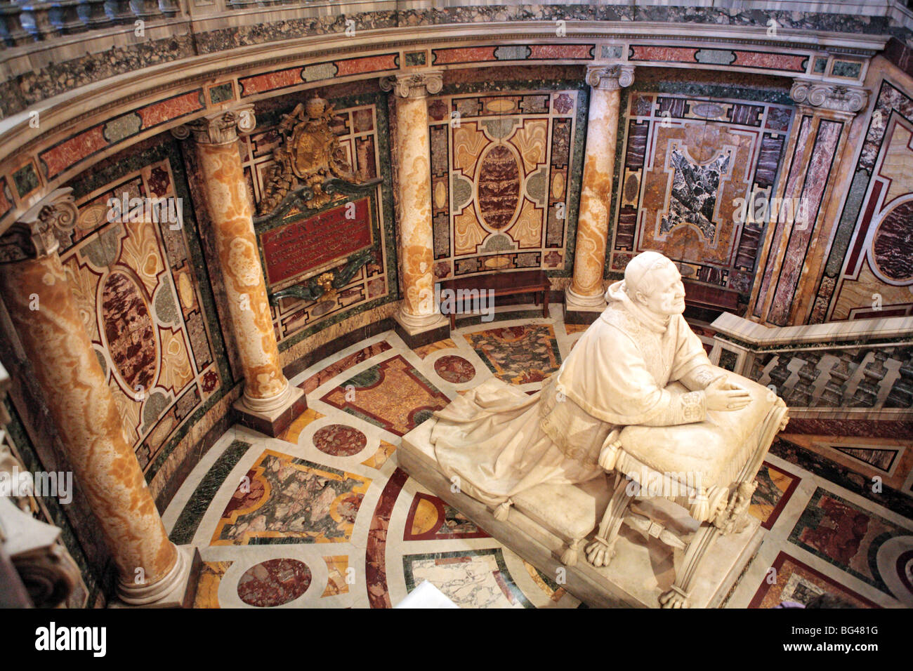 Church of Santa Maria Maggiore, Rome, Italy - Stock Image