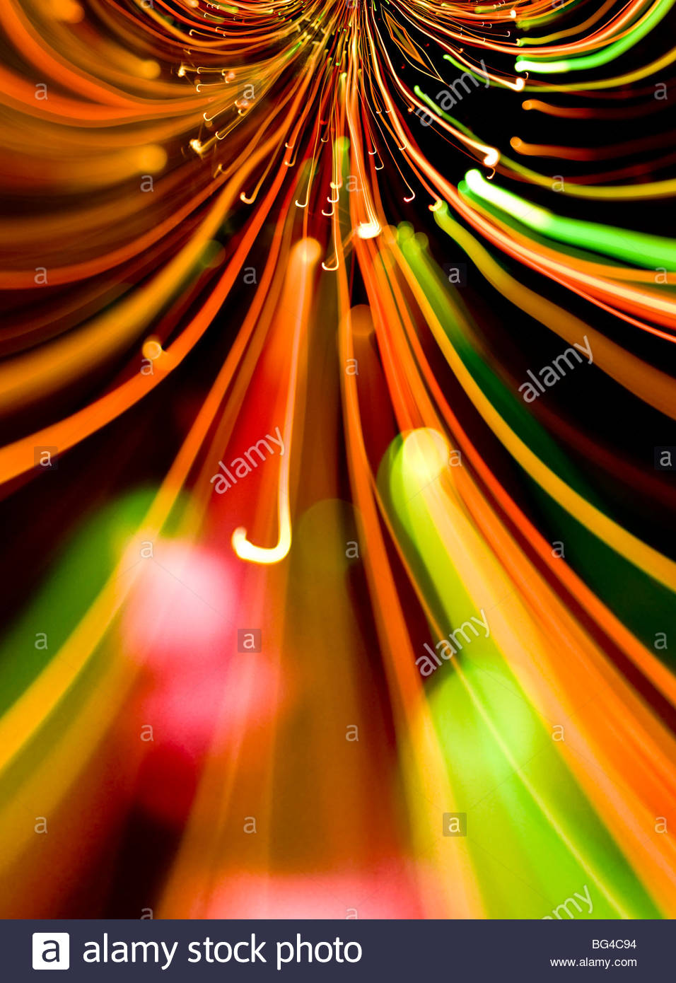 Abstract Light blur - Stock Image