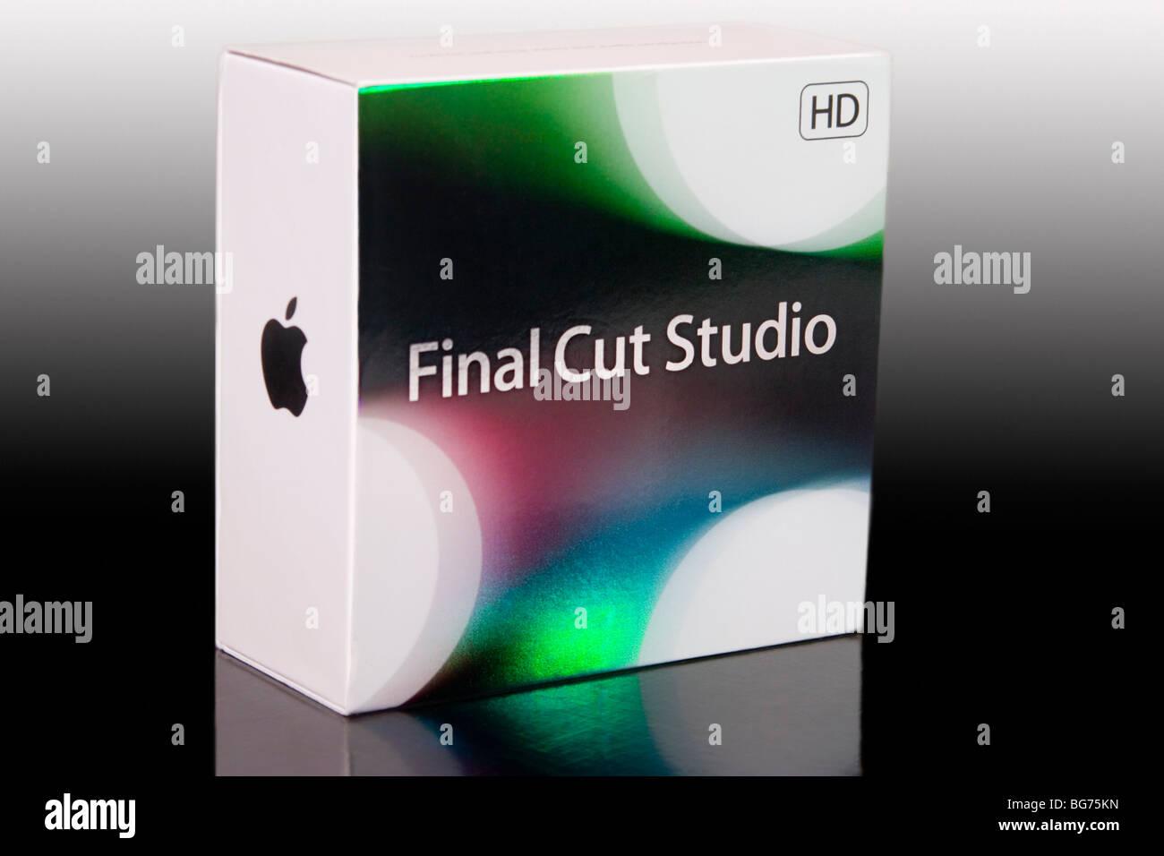 apple final cut studio video editing software stock photo rh alamy com Final Cut Pro X Final Cut Studio Icon