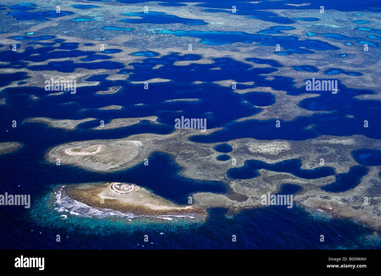 Houtman Abrolhos Islands,  Western Australia Stock Photo